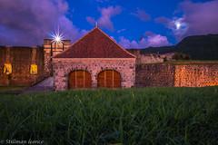 Fort Delgres à l'heure Bleue