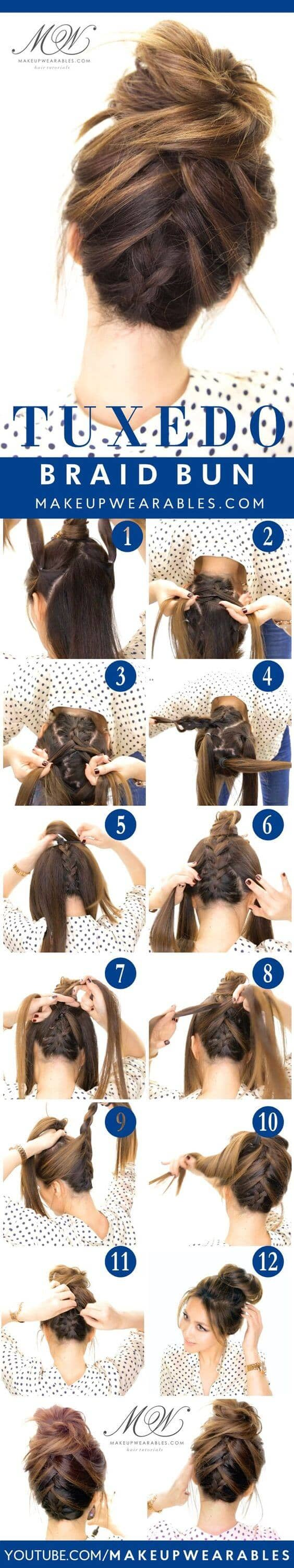Best Adorable Bun Hairstyles 2019-Inspirations That 17
