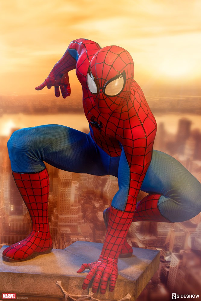 Sideshow Collectibles Legendary Scale Marvel Comics【蜘蛛人】Spider-Man 1/2 比例全身雕像作品