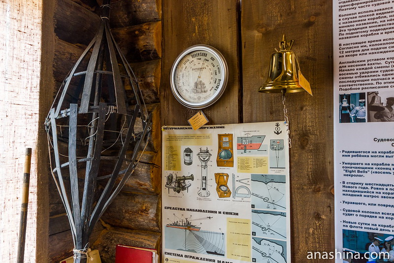 Штурманское вооружение корабля, Музей Ладоги, Сортавала
