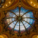Ceiling of Printemps in Paris