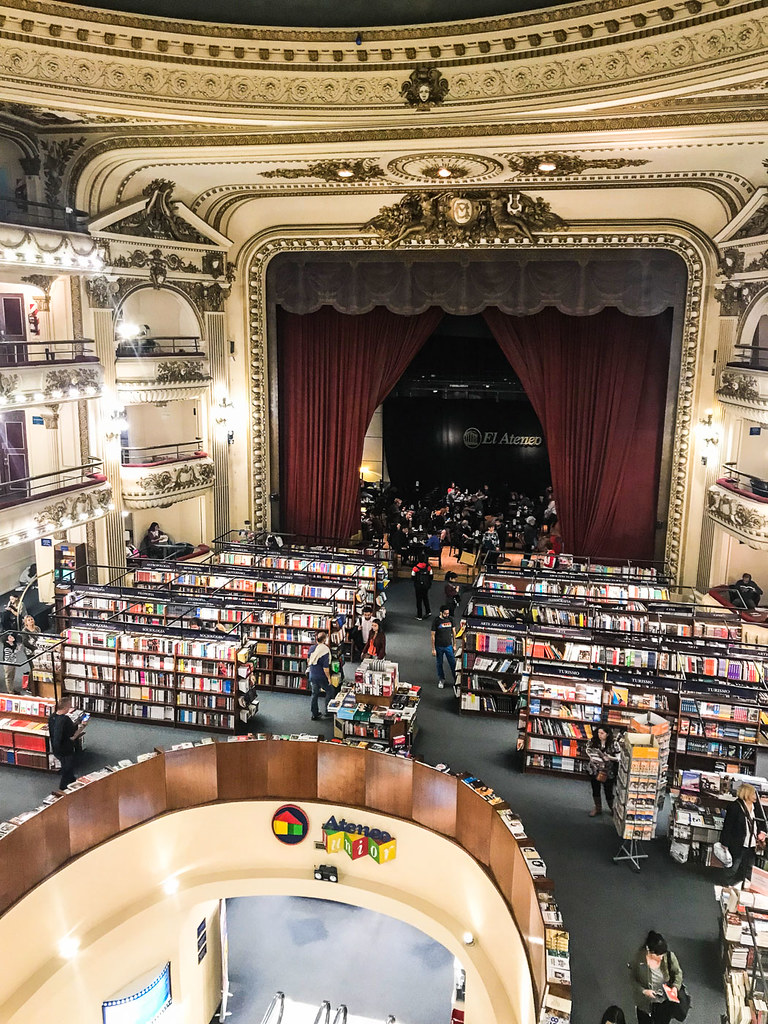 El Ateneo Grand Splendid book store