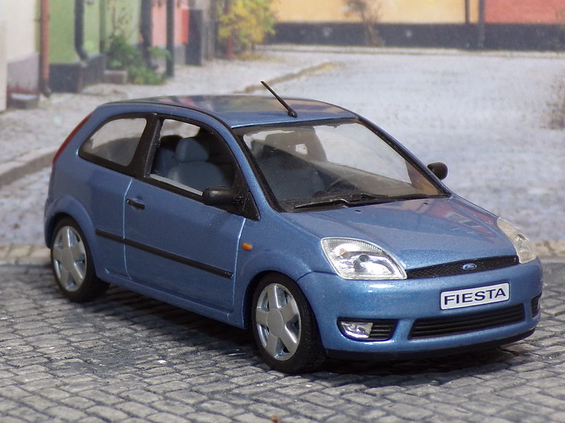 Ford Fiesta MKV - 2002 - Minichamps