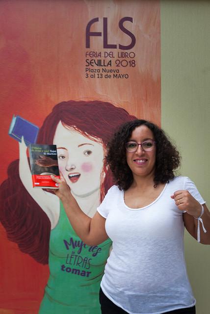 Presentación de 'Madre de leche y miel' de Najat EL Hachmi. Feria del Libro de Sevilla 2018