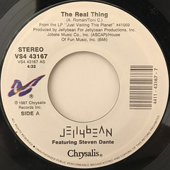 JELLYBEAN:THE REAL THING(LABEL SIDE-A)