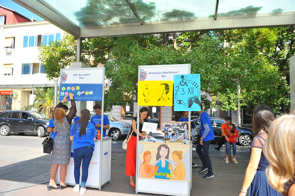 MONTENEGRO: inclusive day celebration by schools