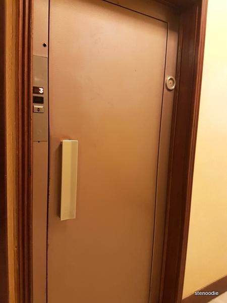 Elevator in Vaticanum 67 building