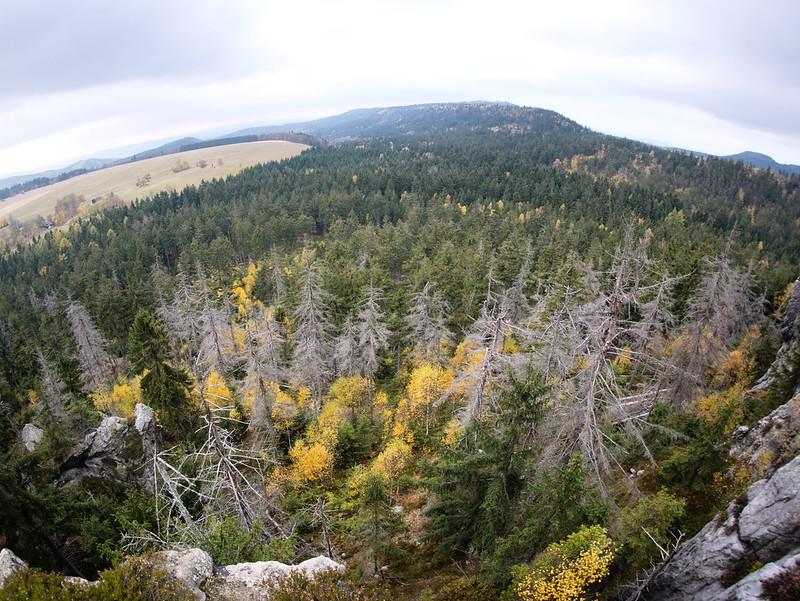 Góry Stołowe Urwisko Batorowskie