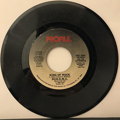 RUN-D.M.C.:KING OF ROCK(RECORD SIDE-B)