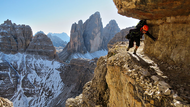 Schartensteig / Sentiero delle Forcelle - Trentino-Alto Adige / Veneto - Italia