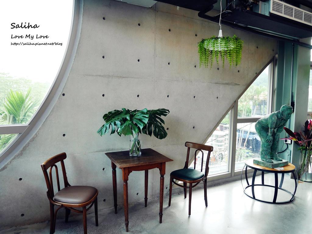 新北深坑老街一日遊景點餐廳美食推薦Arc Cafe不限時玻璃屋咖啡館下午茶 (5)