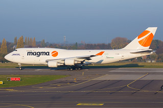 TF-AMN Magma Aviation Boeing 747-400(F), Liege Airport - EBLG/LGG | by neplev1