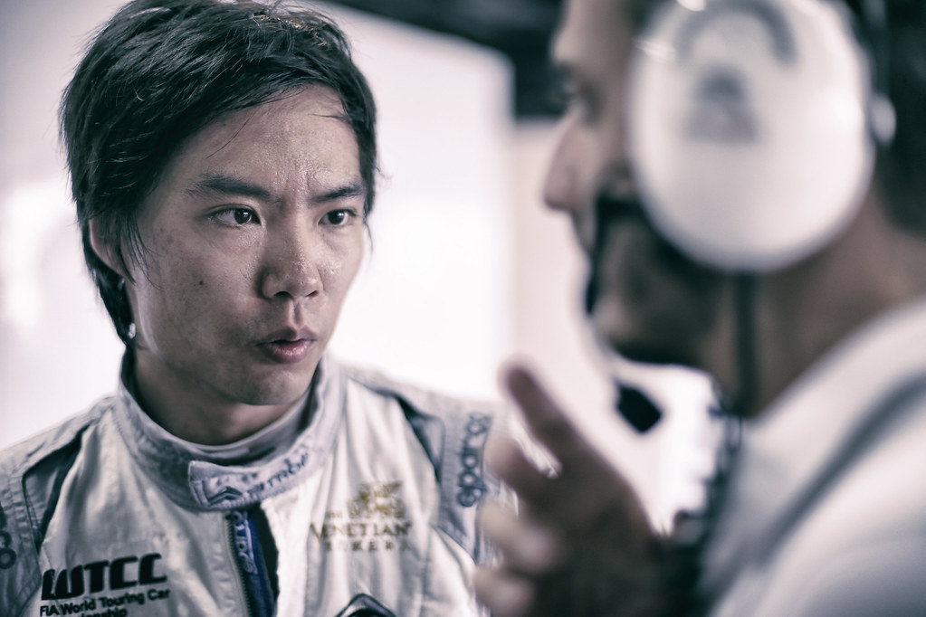 QING HUA Ma (chn), Honda Civic TCR team Boutsen Ginion Racing, portrait during the 2018 FIA WTCR World Touring Car cup of China, at Ningbo  from September 28 to 30 - Photo Jean Michel Le Meur / DPPI
