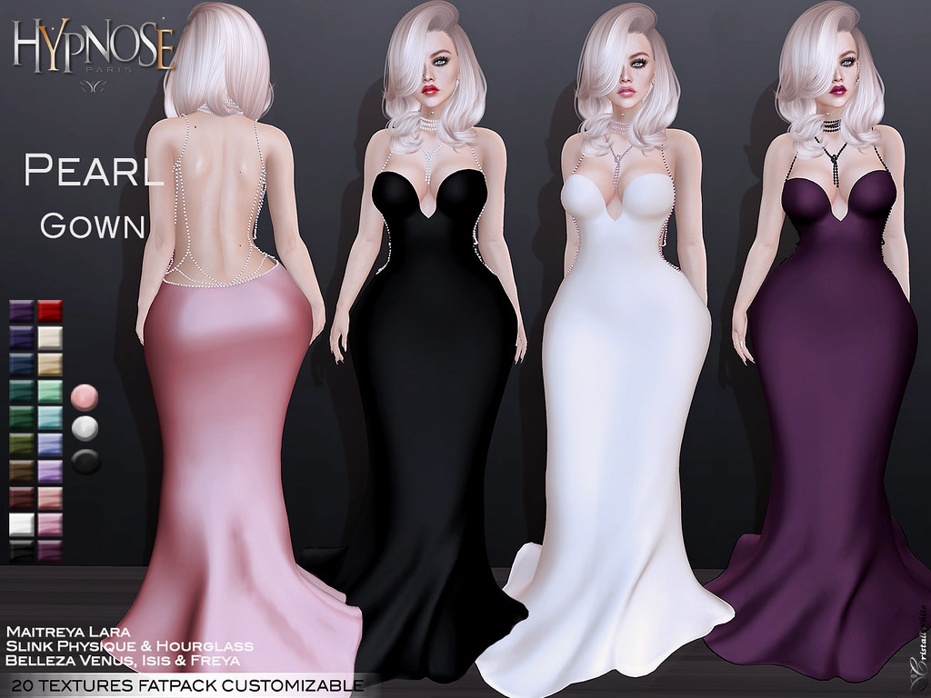HYPNOSE – PEARL GOWN