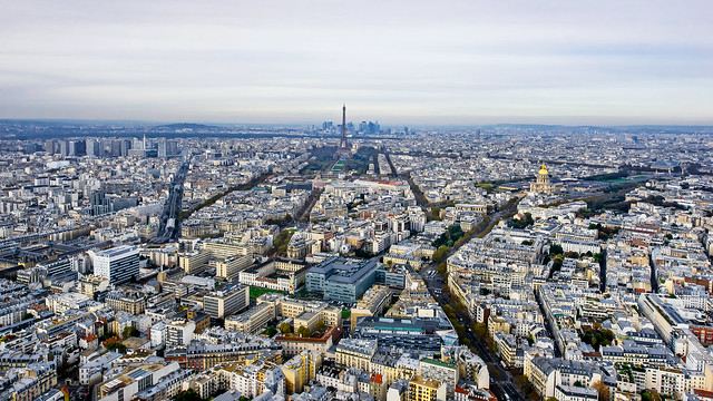 Paris from Tour Montparnasse