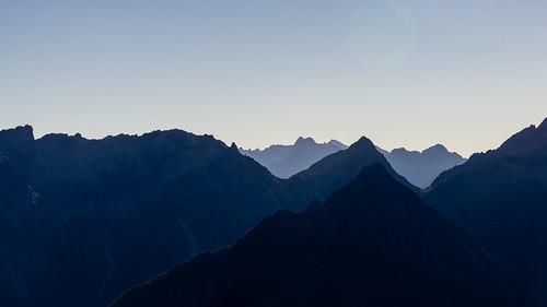 Gipfelsilhouetten