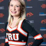 Akayla Burley, WolfPack Cheerleading Team