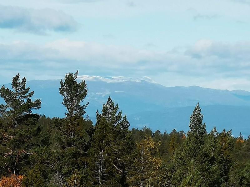 32-Snø på Norefjell fra Hovlandsvarden