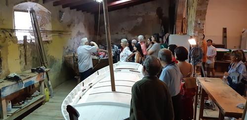 Visita guiada a la seu organitzada per la confraria. 13 d'octubre.