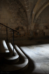 The light in the stairs - Photo of Buzancy