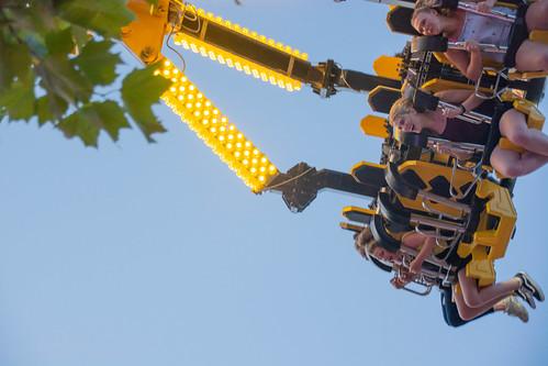 Kingsbridge Fair Ride.