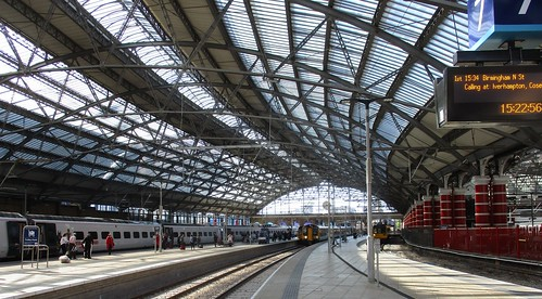 Liverpool Lime Street's magnificent roof