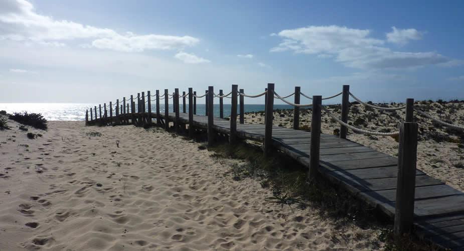 Naar het strand in Faro, Portugal: Praia de Faro | Mooistestedentrips.nl