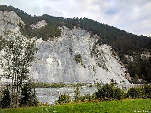 Rocks along the Rhine