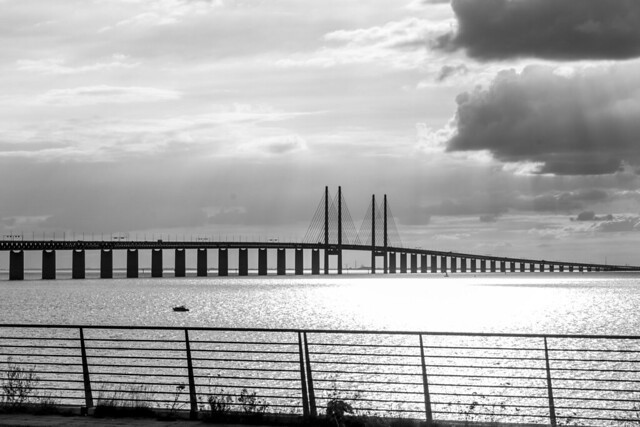 Sweden - Limhamn - Oresund Bridge