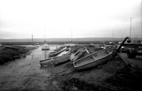 Boats in Heswall