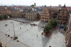 Place du Château @ Observatory @ Cathédrale Notre-Dame de Strasbourg @ Strasbourg