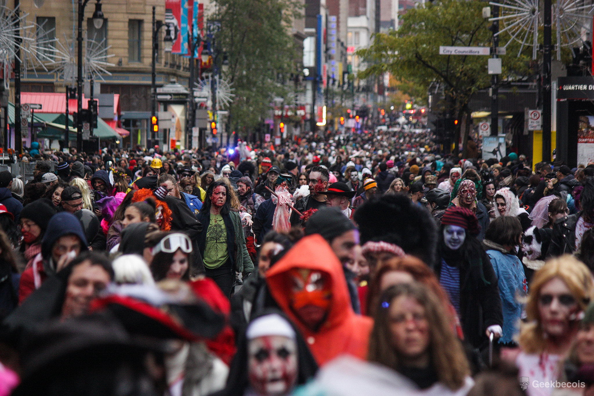 Marche des Zombies de Montréal 2018