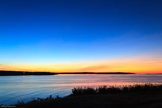 Sunrise from Burnt Island
