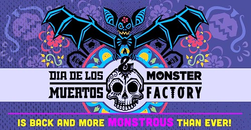 """Dia de los Muertos"" (Halloween) Party at the City Arts (Monster) Factory"