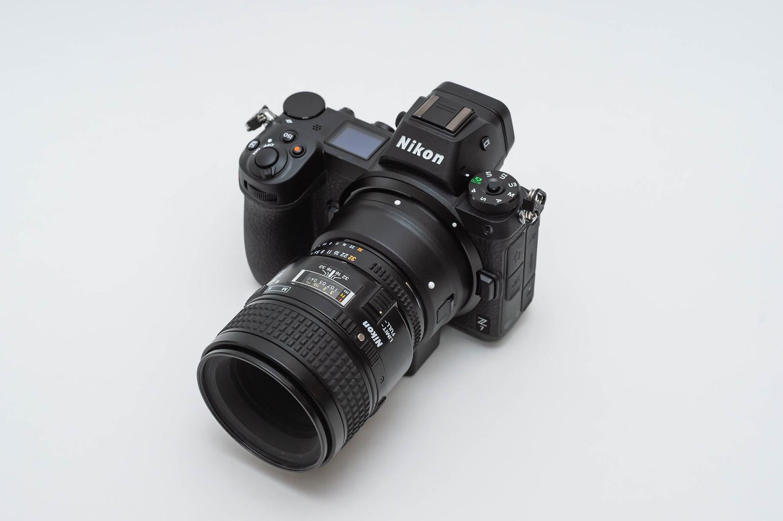 Nikon Z7 + FTZ + AF Micro-Nikoor 60mm F2.8D