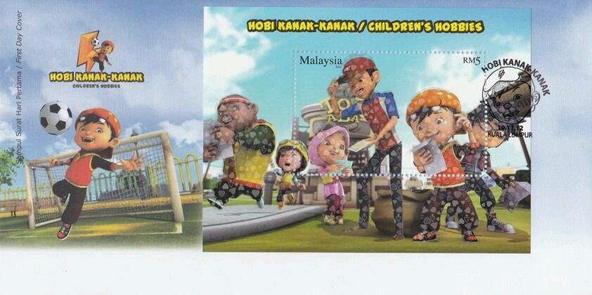 Malaysia - Michel #BL164 (2012) first day cover