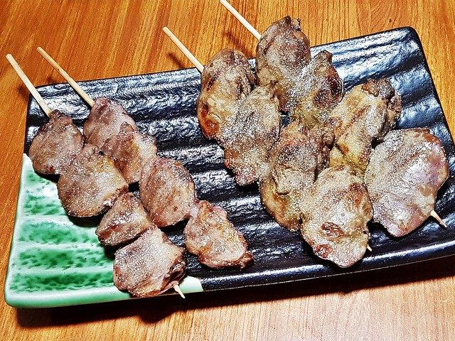 Skewers - Chicken Heart, Chicken Liver