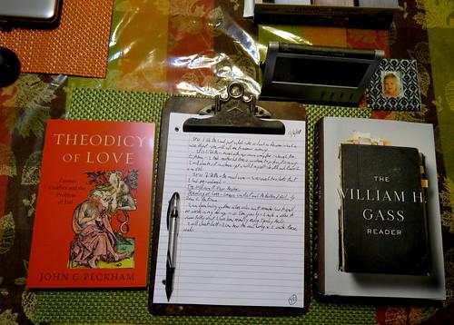 books & paper diary