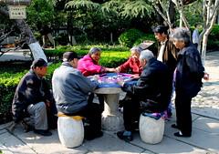 Mahjong in het park (2)