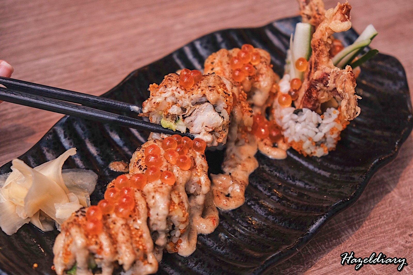 Maru Dine & Bar-Tanjong Pagar-Sushi Roll