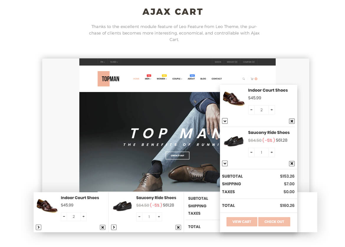 ajax add to cart - Leo Topman - Men Shoes and Fashion Prestashop 1.7 theme