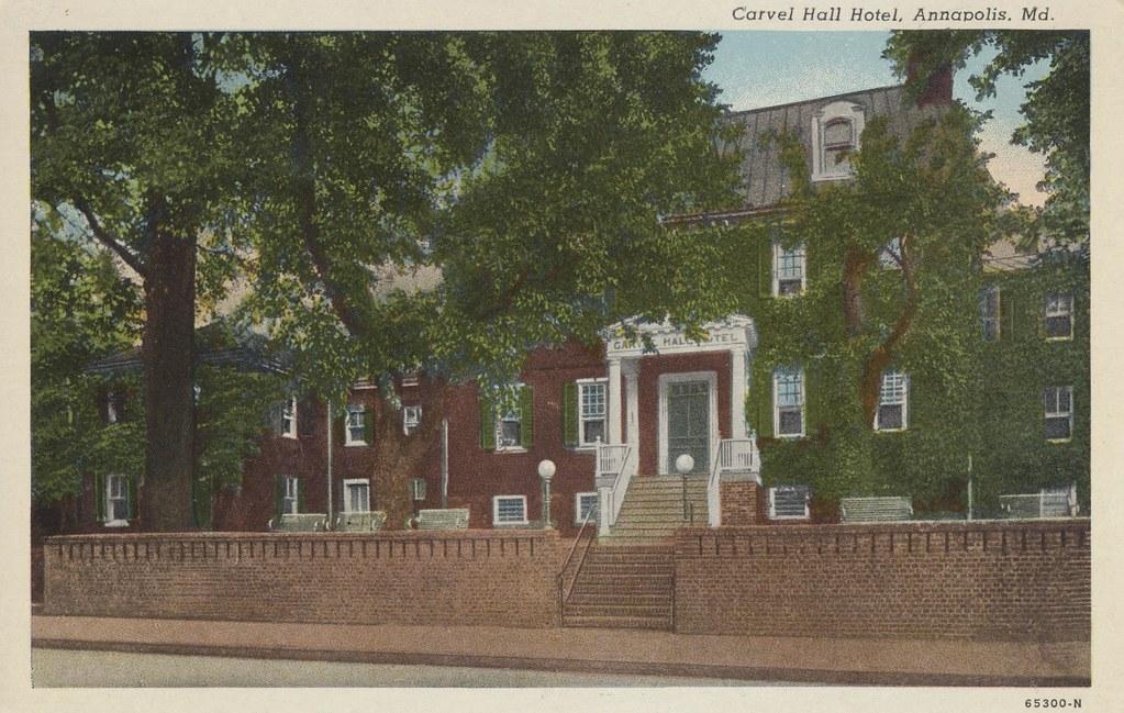 Carvel Hall Hotel - Annapolis, Maryland