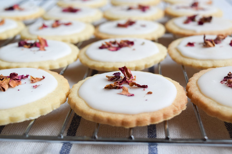 How To Make Rosewater Biscuits