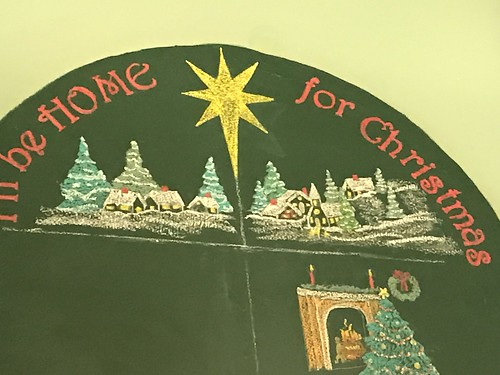 Chalkboard Christmas Tree 2018