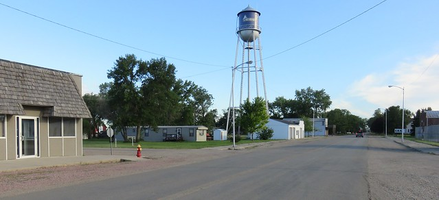 Downtown Cresbard, South Dakota