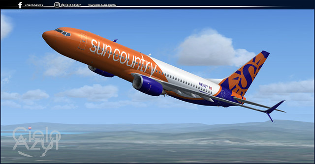 SunCountry Airlines (N830SY) v1.3