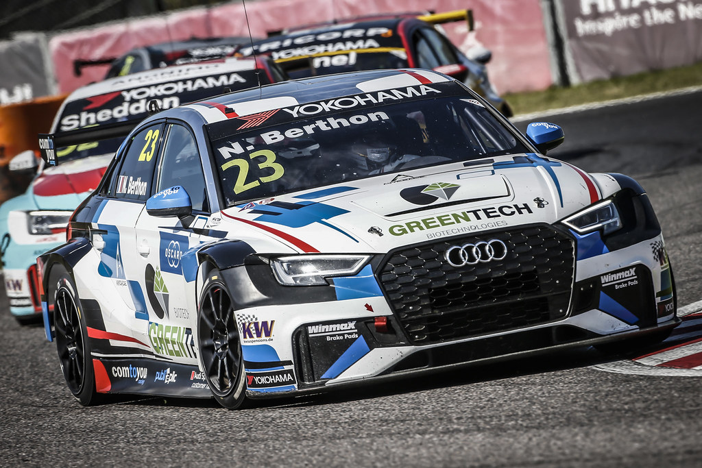 23 BERTHON Nathanael, (fra), Audi RS3 LMS TCR team Comtoyou Racing, action during the 2018 FIA WTCR World Touring Car cup of Japan, at Suzuka from october 26 to 28 - Photo Francois Flamand / DPPI
