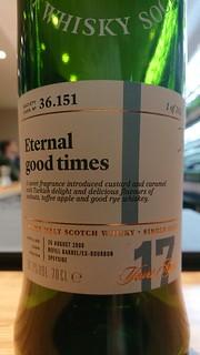 SMWS 36.151 - Eternal good times