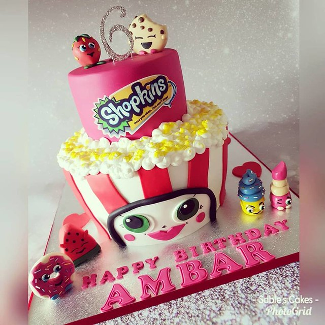 Cake by Sable's Celebration Cakes