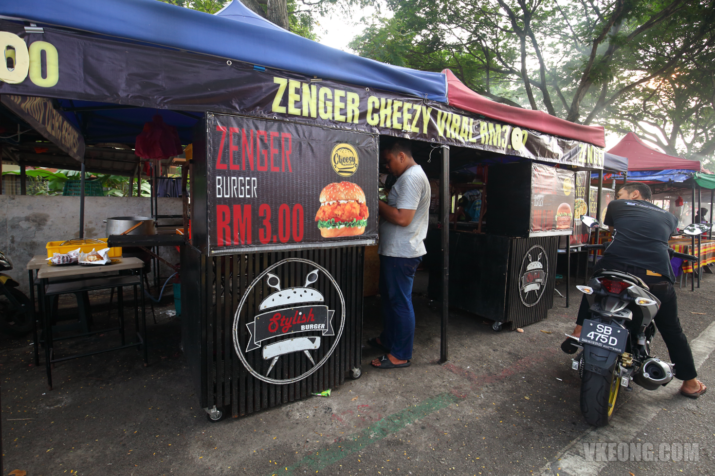 Stylish-Burger-Stall-Zenger-Burger